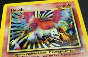 Ho-Oh-Neo-Revelation-Rare-Holo-Foil-Pokemon-Card-Un-Graded-Potential-PSA-9-10