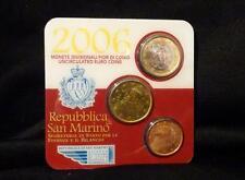 Repubblica di San Marino – 2006 – 1€ - 50 cent – 5 cent
