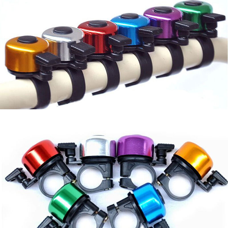 Metal Bicycle Bike Cycling Handlebar Bell Ring Horn Sound Al