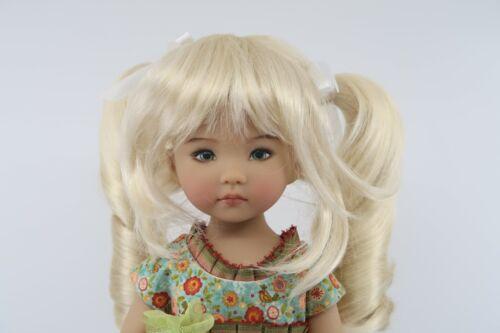 Wig for Dianna Effner Little Darling doll Honey Blonde Pigtails Monique Darling