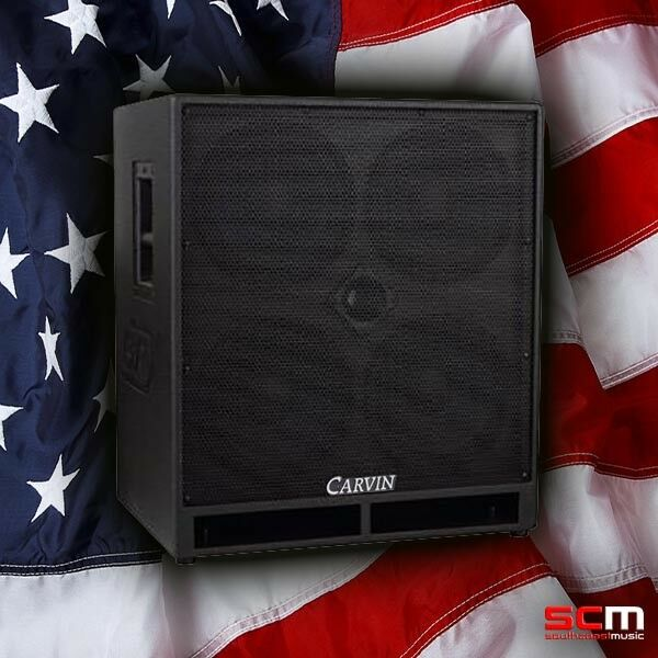"CARVIN BRX10.4 NEO 4 x 10"" 1200 watt Bass Speaker Cab Made in the USA NEW!"