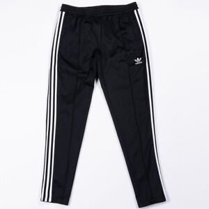 Details about ADIDAS BECKENBAUER TRACK PANTS Black White old school retro training new