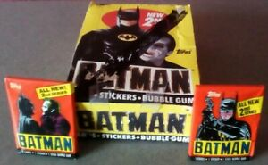 Batman 1989 Vintage Topps Movie Cards Pack 2nd Series