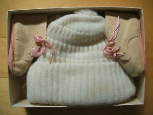 Dutiful Vintage Baby Girl's Bonnets And Booties To Enjoy High Reputation In The International Market Clothing, Shoes & Accessories