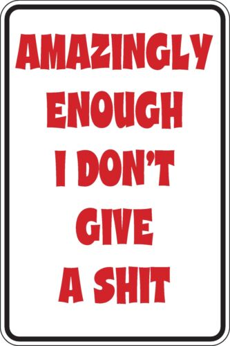 Étonnamment assez I dont Give a Sh t Funny Novelty Stickers JDM Euro SMA SM1-206