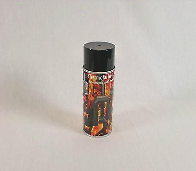 Ofenfarbe 1200 °C Spezial Ofenlack Thermofarbe Gussgrau Hell
