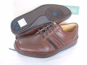 de de tamaño cuero Nuevos Ver G blando 7 Fit motores aire Clarks zapatos activos marrón R0Twqf0g
