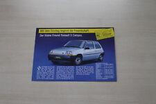 172818) Renault Alpine V6 Turbo - R 5 Campus - Primus - Espace J11 Prospekt 198?