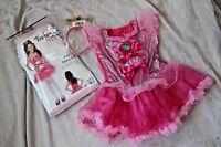 Girls S 4 5 6 Enchanted Costumes Pretty Princess Dressup Halloween Costume