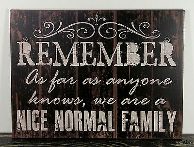 PRIMITIVE COUNTRY WOOD HUMOROUS SIGN HANDMADE INSPIRATIONAL HOME WALL DECOR 0164