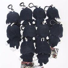 1pc Kuroshitsuji Black Butler Sebastian Mini Plush Stuffed Doll Keychain Clip
