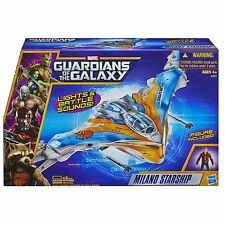 "Guardians of the Galaxy Milano Starship Raumschiff Star Lord 3 3/4"" Figur Hasbro"
