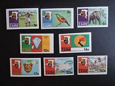 Zaire RDC cob n°967/74 non dentelé  Mnh