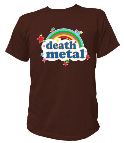 T-shirt Death Métal heavy metal skull Dead skulls paillettes hard rock Musique Music