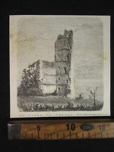 1876-TORRE-DI-VELATE-VARESE-ROVINE-VEDUTA-ANTICA-STAMPA-D508