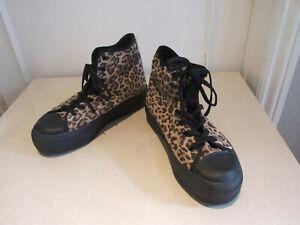 Schuh BNWOB Lovely Black \u0026 Animal Print