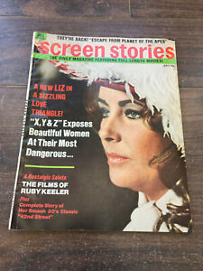 Vintage-Screen-Stories-Magazine-July-1971-Elizabeth-Taylor-Planet-of-the-Apes
