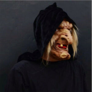 Halloween-Witch-Mask-Costumes-Adult-Latex-Hag-Party-Props-Old-Scary-Evil-Cosplay