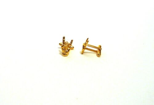 /'Rock On/' Gold Plated Cufflinks Rock Music Gift Heavy Metal Gift Men/'s gift NEW