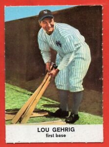 1961 Golden Press #16 Lou Gehrig EX-EXMINT+ HOF New York Yankees FREE SHIPPING