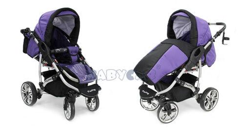 SALE Neu Kombi Kinderwagen Schwenkräder Poussette Sportsitz Autositz Babyschale