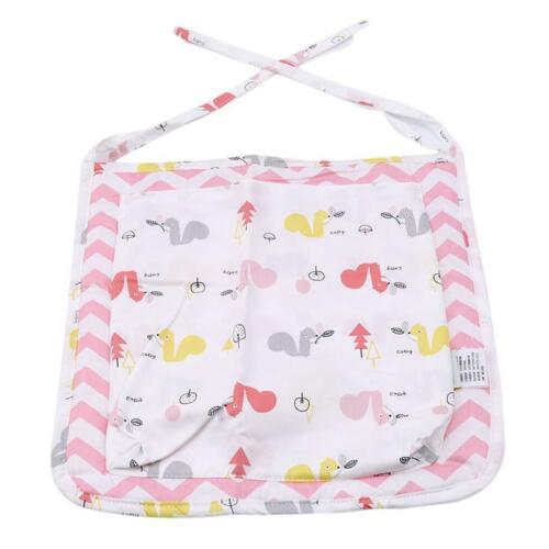 Baby Bed Hanging Storage Organizer Bag Cot Crib Nursery For Toy Diaper Clothes T