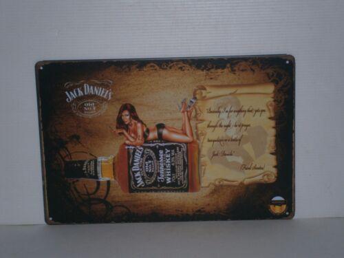 JDGMS1 Jack Daniel/'s Old No 7 Brand Metal Sign 20 cm H X 30 cm W New