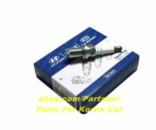 2011 ~ Hyundai Tucson ix Factory Spark Plugs 18841-11051 4EA 1 SET NEW Genuine