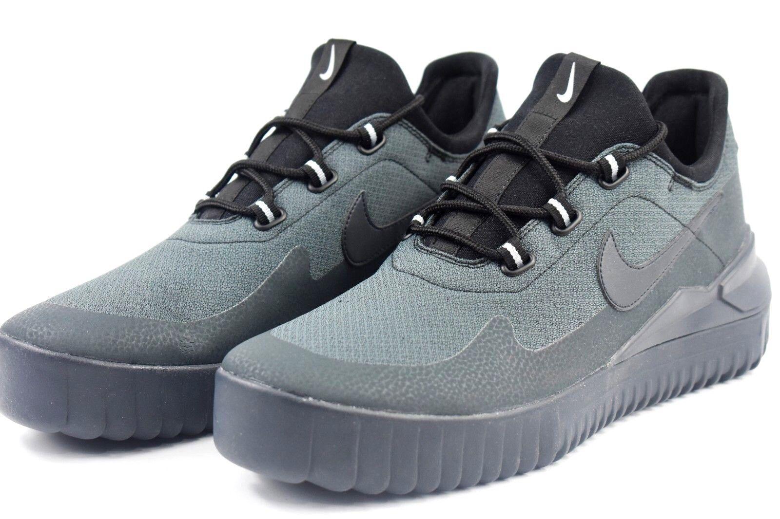 Nike Air Wild Mens Size 11.5 Black Grey Trail Hiking Boots 917547 002