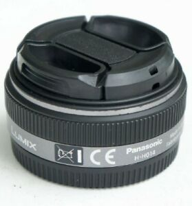 Silver-Panasonic-Lumix-G-14mm-f-2-5-Aspherical-AF-H-H014-Lens