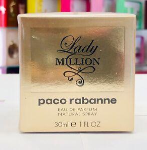 Lady-Million-by-Paco-Rabanne-Eau-De-Parfum-1-oz-Spray-New-in-The-Box