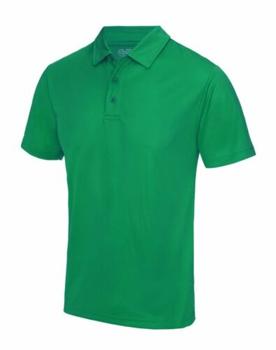 UPF 30+ in Colour Choices Moisture Wicking POLO SHIRT Men/'s 100/% Polyester