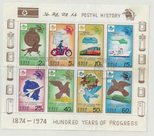 KOREA 1978 POSTAL HISTORY COMP. SET OF 6 STAMPS SC#1675a CTO