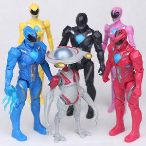 Power-Rangers-Yellow-Black-Red-Ranger-Movie-6-PCS-Ranger-Action-Figure-Gift-Toys