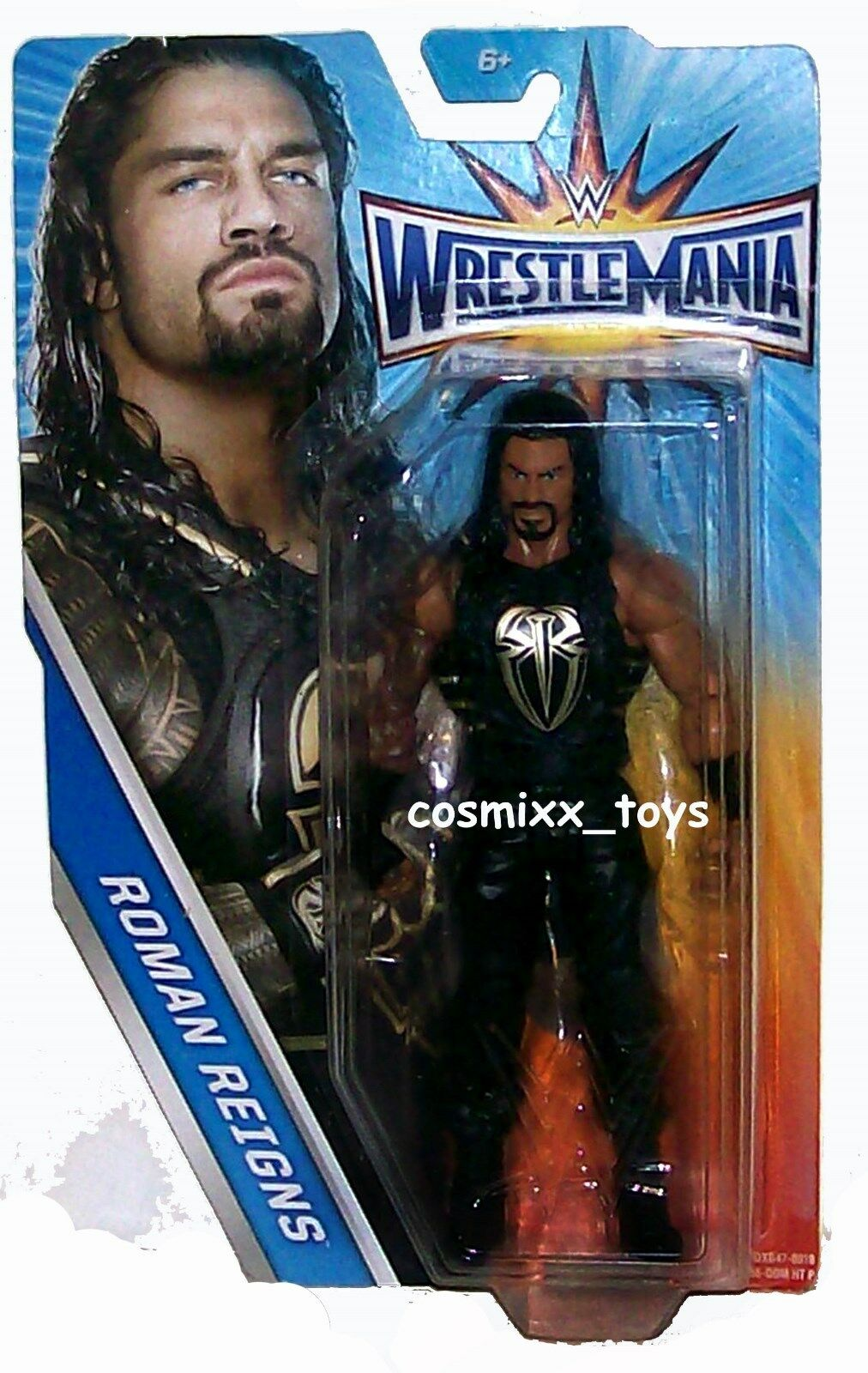 WWE WRESTLING WRESTLEMANIA HERITAGE SERIES THE SHIELD SUPERSTAR ROMAN REIGNS