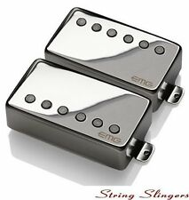 EMG-57 & EMG-66 pair of Active Humbuckers, Chrome, Solderless