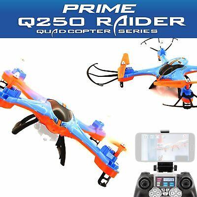 Acme Quadrocopter Zoopa Prime Q250 Raider Con Wifi Live Video Transmission-ion It-it Mostra Il Titolo Originale Rafforzare L'Intero Sistema E Rafforzarlo