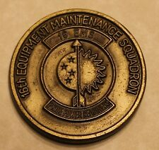 16th Special Operations Wing 16th Equip Maint Sq EMS Air Force Challenge Coin