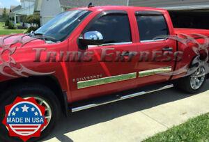 2007-2008-Silverado-Crew-Cab-Body-Side-Molding-Overlay-Trim-Cover-4-1-4-034