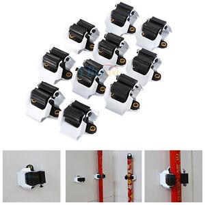 10x-Geraetehalter-Werkzeughalter-Geraeteleiste-Besenhalter-Wandhalter-Mophalter-A