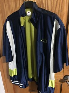 NIKE Jacket XL BLUE/GREEN SEATTLE COLOR!