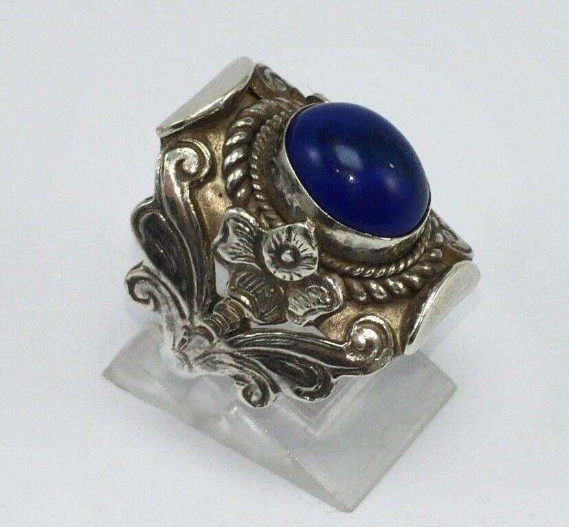 ANILLO (NEPAL) DE silver 925 CON LAPIS