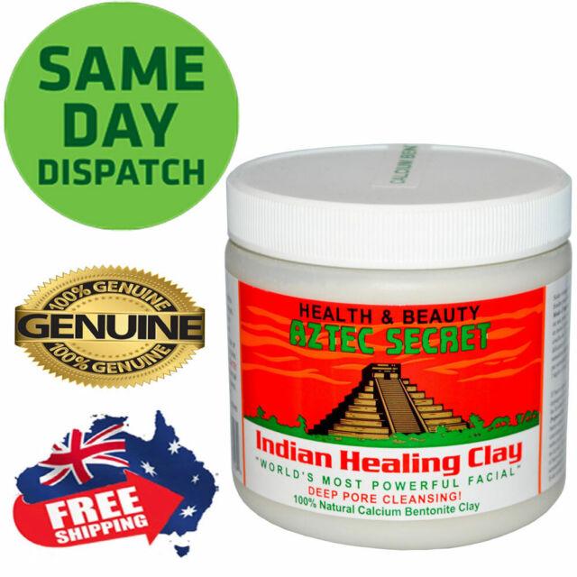 Aztec Secret Indian Healing Clay Facial Deep Pore Cleansing Mask 454g Genuine