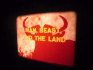 Details about 16mm Film  '' Man Beast & The Land ''   15''  reel  sound  Vintage