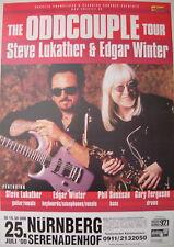 STEVE LUKATHER EDGAR WINTER CONCERT TOUR POSTER 2000 TOTO EDGAR WINTER GROUP