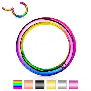 Surgical-Steel-Hinged-Segment-Ring-Septum-Clicker-Nipple-Nose-Hoop-Piercing