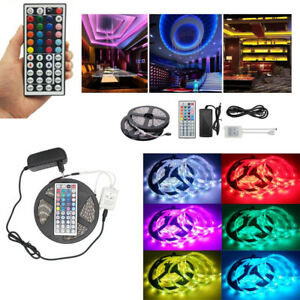 1-30m DC 12V 5050 RGB Tira de luces 300LEDs Tv...