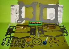 EDELBROCK CARTER AFB CARBURETOR REBUILD KIT W/PUMP AND FLOATS 9400 9410 9500 +++