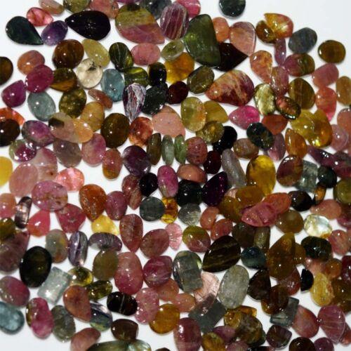 Multi Tourmaline Normal Quality Mix Shape /& SizeCabochon Natural Loose Gemstone