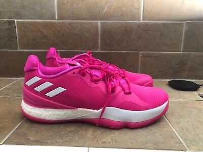tensión jamón Desierto  Adidas Crazy Light Bounce Pink Basketball Shoe D97379 Size 12 | eBay
